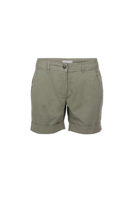 Short en coton, Kaki