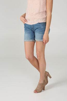 Short en jeans, Denim clair