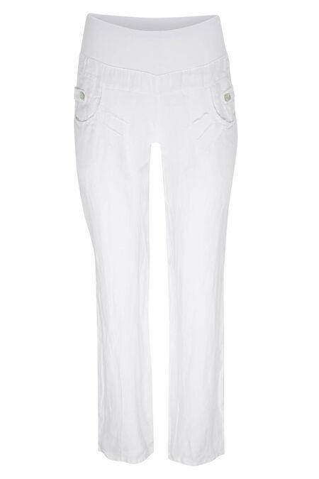 Pantalon en lin - Blanc