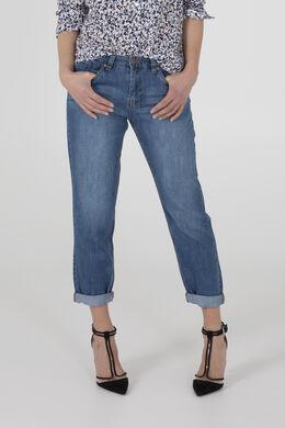 Jeans coupe boyfriend, Denim