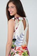 Robe imprimé jardin exotique, multicolor