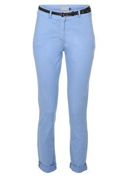 Pantalon chino, Bleu