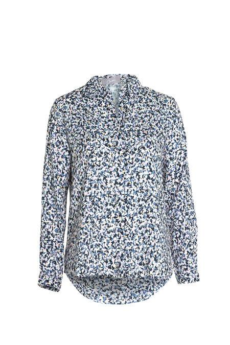 Hemd met camouflageprint - Roze