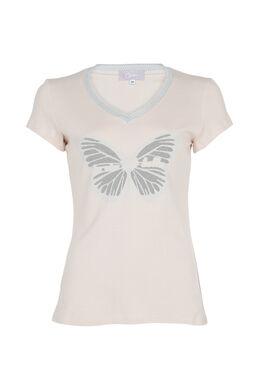 T-shirt la vie est belle, Nude