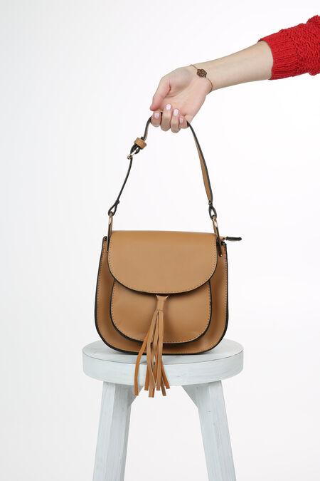 Petit sac bandoulière - Beige