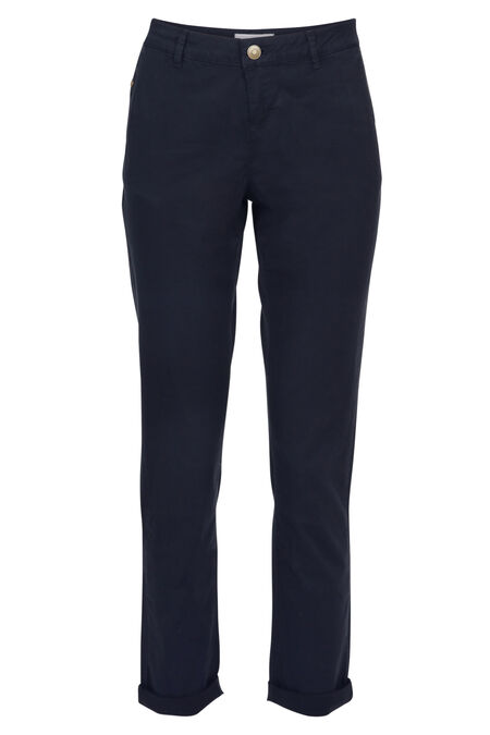 Pantalon chino - Marine