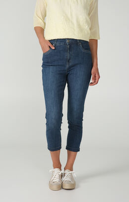 Push-up kuitbroek in jeans, Denim