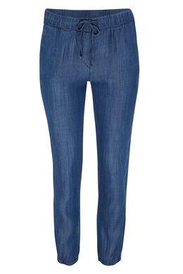 Pantalon en tencel, Bleu