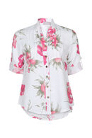 chemise en lin, Blanc