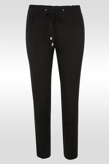 Pantalon en polyviscose - Noir