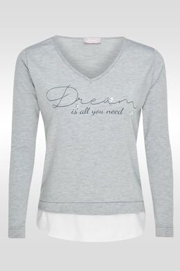 Sweat dream is all you need, Gris Chine