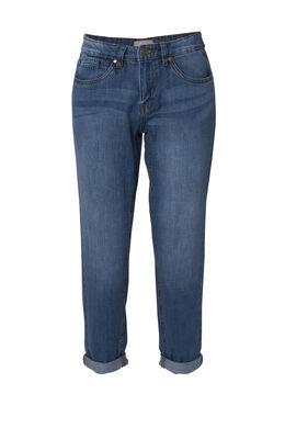Boyfriend jeans, Denim