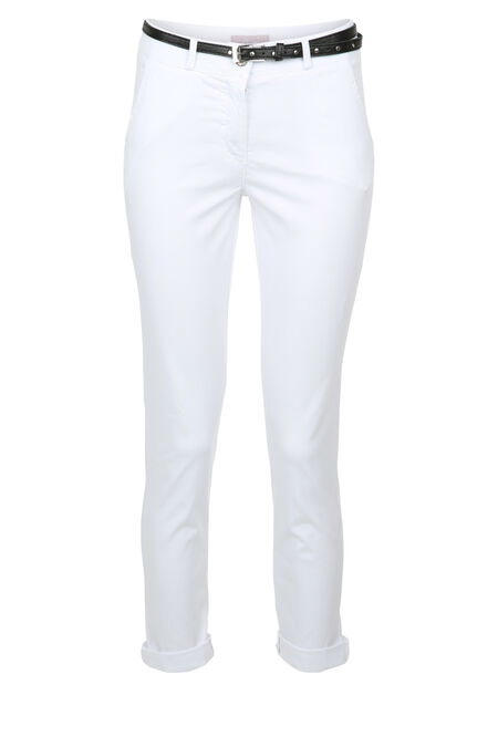 Pantalon chino - Blanc
