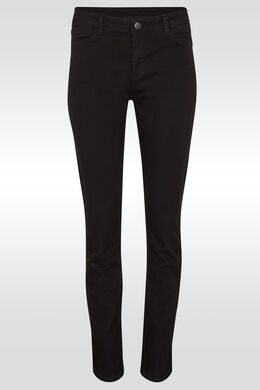 Jeans basique slim, Black Denim