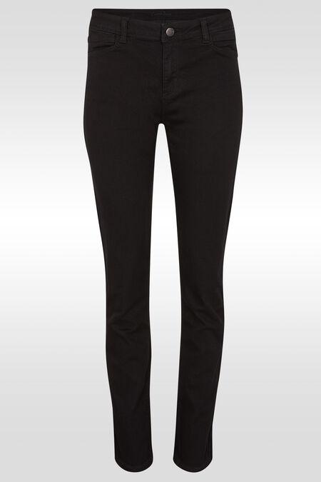 Basic slim jeans - Zwart denim