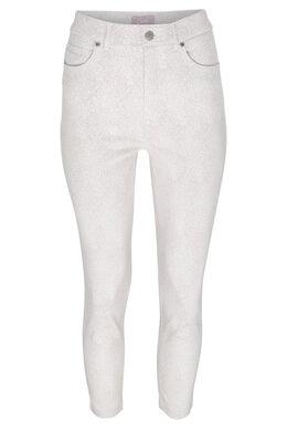 Pantalon 7/8 imprimé peau de bête, Beige