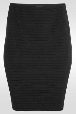 Rok in tricot, Zwart