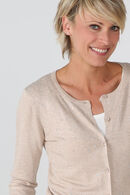 Cardigan grosse maille, Sable