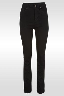 Jeans push up taille haute slim, Noir