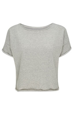 Sweat effet paillettes, Gris Chine