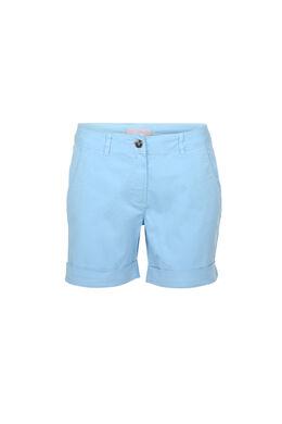 Katoenen short, Lichtblauw