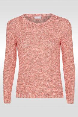 Gechineerde trui, Rood
