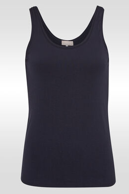 Top, Marineblauw