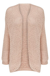 Cardigan loose grosse maille