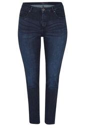 Jeans met 5 zakken, SLIM model
