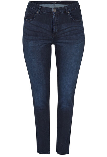 Jeans met 5 zakken, SLIM model - Denim