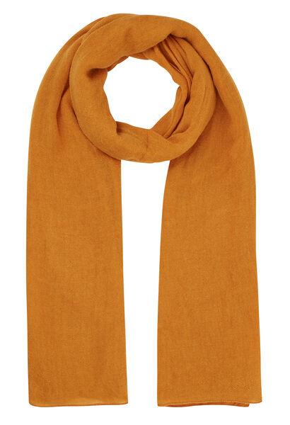 Effen sjaal - Oker