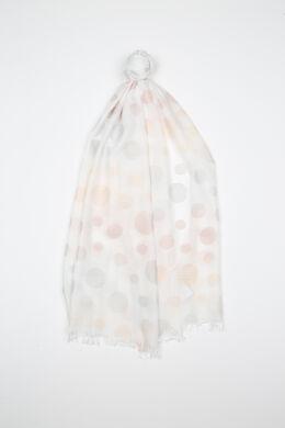 Sjaal met cirkels, Blush