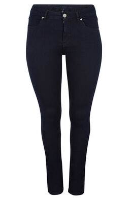 Jeans 5 poches skinny, Marine