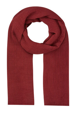 Sjaal van plooitjesstof Marineblauw