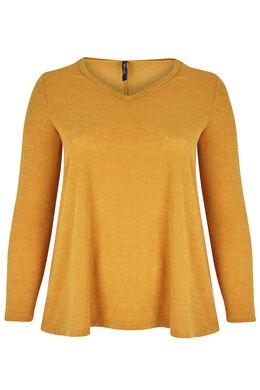 Tuniek van warm tricot Oker