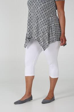 Klassieke legging van biokatoen, Wit