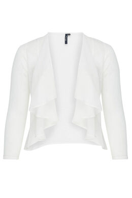 Cardigan en maille chaude, Blanc casse