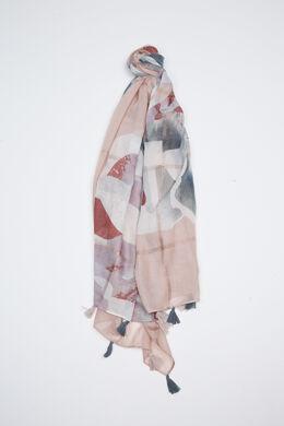 Bedrukte sjaal, Blush