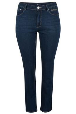 Rechte jeans met 5 zakken, Denim