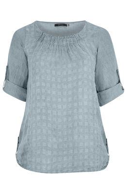 Linnen blouse, Grijs