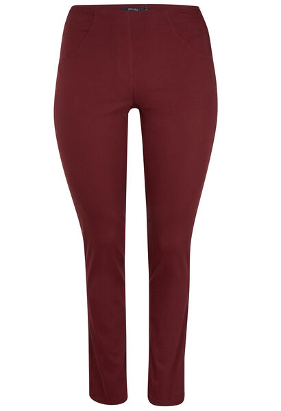 Pantalon en bengaline - Bordeaux