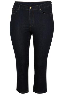 Korte jeans met 5 zakken Denim