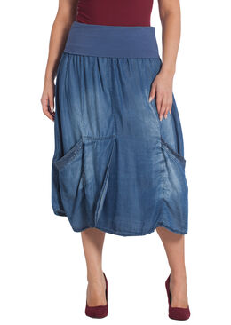 Rok in tencel, Denim
