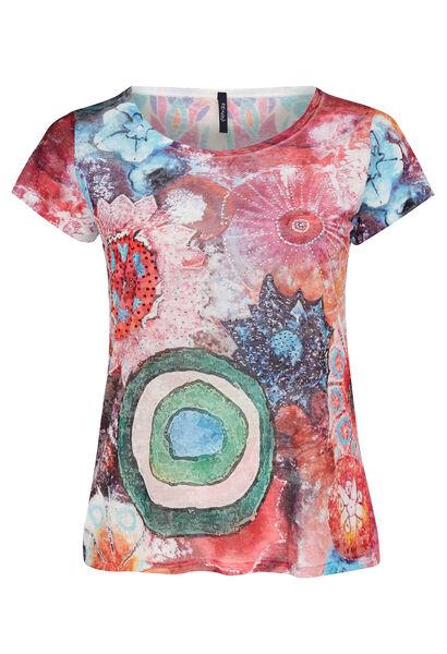 T-shirt imprimé multi-couleurs - multicolor