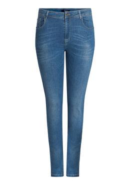 SLIM jeans met 5 zakken Denim