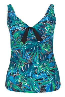 Tankini imprimé jungle, multicolor