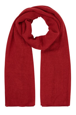 Effen sjaal Tomaat