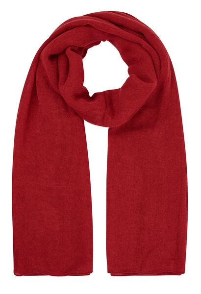 Effen sjaal - Tomaat