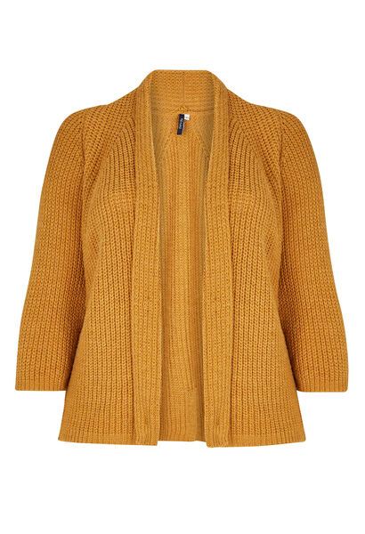 Gilet effet loose - Ocre