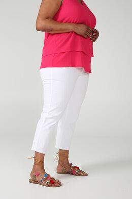 Pantacourt 5 poches, Blanc